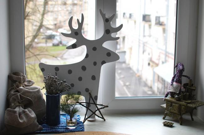 25 идей новогоднего декора за 5 минут (без шитья, дрели и красок) | Анна Черных