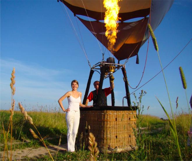 Небо в подарок —полёты на воздушном шаре, самолёте, вертолете, параплане